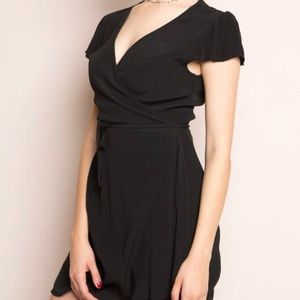 Brandy Melville Black Robbie Dress